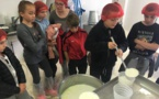 Opération Agri'gustu 2018 :  A Afa, les écoliers apprennent à fabriquer fromage et brocciu