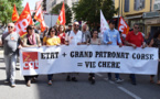 Ajaccio : La Marée populaire est descendue dans la rue