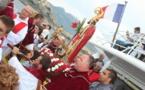 Procession en mer pour Saint Erasme et bénédiction de la vedette de la SNSM à Calvi