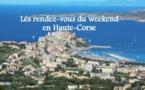 Sorties : L'Agenda du week-end en Haute-Corse