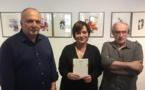 """Bernard Filippi, Marie Ferranti et Antoine Graziani ont présenté :""""Fugues, Pulsations"""""""