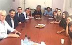 Collège Arthur-Giovoni à Ajaccio  : La visite du député Paul-André Colombani