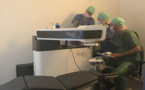 Le nouveau laser TENEO II 317 au Centre Vision Futura à Bastia.