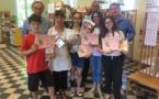 Bastia : Les jeunes « donneurs de voix »  ont remis leurs livres….