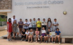 Label Ecoscola pour l'école de Curbara