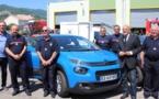 Un véhicule pour les anciens sapeurs-pompiers de Haute-Corse