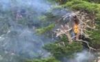 Incendies : Deux départs de feu déclenchés en montagne par la foudre