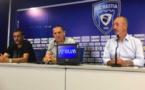 Stéphane Rossi, entraîneur, Claude Ferrandi, président, et Pierre-Noël Luiggi, vice-président, ont lancé la saison du SC Bastiais