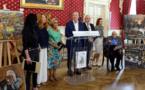 Oscar Rabine, le célèbre artiste Russe reçu par la ville d'Ajaccio