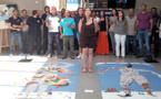 Ajaccio :  Paolina Rognini expose à l'union territoriale Cmcas-Ccas à la Sposata