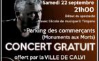 Concert exceptionnel à Calvi avec Eric Mattei et ses musiciens