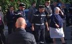 Jacqueline Gourault a rendu visite aux pompiers de l'Ile-Rousse touchés un peu avant par un drame