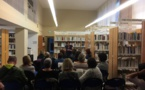 """Beaucoup de monde mardi soir à la bibliothèque centrale pour ce """"Lâcher prise"""" de Patricia Vadrot-Pinna"""