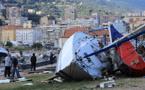 Des restes d'embarcations semés sur des centaines de mètres : Ajaccio panse ses plaies