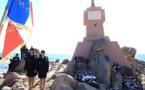 A Ajaccio la Borne de la Terre Sacrée rend hommage aux soldats corses depuis 1933