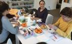Pour la nutritionniste Laetitia Ansaldi, goûter= sourire !