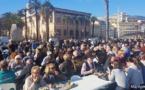 Tempête Adrian  :  I Pescadori in Festa apportent leur soutien