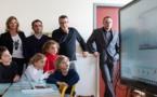 Ajaccio : L'école Forcioli-Conti à l'heure des tableaux numériques