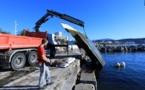 Après la tempête Adrian  : Nouvelle opération propreté quais des Torpilleurs