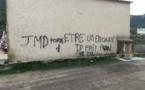 Galeria : Des insultes taguées à l'encontre de Jean-Marie Dominici