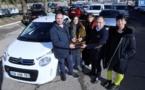 Garage Citroën d'Ajaccio : un véhicule offert à l'occasion d'une Tombola organisée par l'Association Inseme