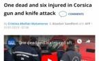 La fusillade de Bastia vue par la presse étrangère