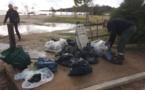 Global Earth Keeper de Porto-Vecchio : Opération nettoyage de la plage de Saint Cyprien