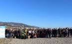 Bastia : Opération nettoyage de la plage de l'Arinella