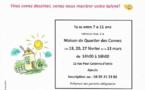 """Concours de dessin """"dessine ton quartier"""" en partenariat avec la Maison de Quartier des Cannes"""