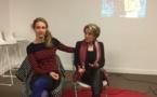 """Le collectif """"Cepanou"""" a présenté le 1er tome de """"Cyberfatale"""" à la médiathèque B.Duriani à Bastia"""