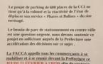Ajaccio : Appel à la mobilisation lancé par les commerçants du Centre-Ville