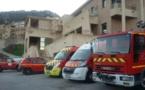 La caserne des pompiers de l'Ile-Rousse s'installe provisoirement à Monticellu