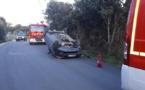 Spectaculaire accident sur la commune d'Aregno