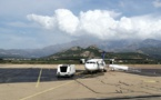 Un ATR d'Air Corsica en panne à Calvi