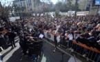 Aiacciu : una millaia di persone per difende a lingua corsa !
