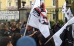 Forte mobilisation devant la préfecture d'Ajaccio contre la visite d'Emmanuel Macron