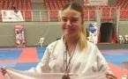 Cassandra Sampieri (Karate Club Goju-Ryu Borgo) championne de France !