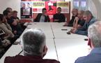 Elections européennes - Le candidat communiste Ian Brossat en campagne à Bastia !