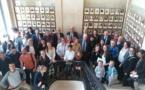 Calvi :  Daria Stebe, et deux de ses élèves, à Paris pour recevoir un prix  national  eTwinning