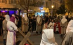 Bastia : Une foule immense au chemin de croix de Notre Dame de Lourdes
