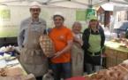 Jean-Luc Poisson, André Sales et les sympathiques boulangères de L'Arbre à pain
