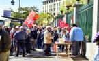 Intersyndicale CGT, CFE-CGC, FO, FSU, UNSA  : Petite mobilisation à Ajaccio