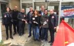 Bastia : une opération de sensibilisation des usagers menée par les syndicats des finances publiques