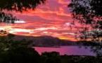 La photo du jour : Quand le soleil colore A Revellata