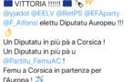 Femu a Corsica : Vittoria ! Un Diputatu in più pà a Corsica !