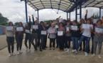 """VIDEO - """"Non au harcèlement"""" : des élèves de 3ème du collège de Porticcio primés"""