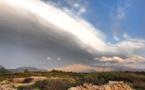 La photo du jour : La danse des nuages sur le Montegrossu