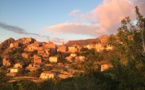 La photo du jour : Speloncatu au coucher de soleil