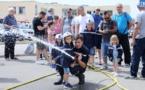 Ajaccio : vif succès pour la journée portes ouvertes de la caserne des pompiers
