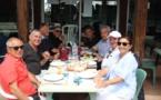 Championnats de Corse de tennis : autour des courts